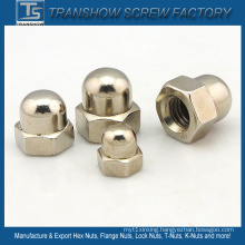 Nickle Plated DIN1587 Dome Cap Nut