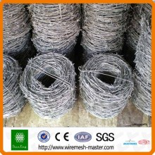 Best price Galvanized/PVC coated barbed wire manufacturer (ISO Direct factory)