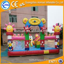 Sale combo inflável bouncer slide aluguel de jogos infláveis ao ar livre