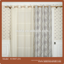 2016 design quente da cortina de janela do blackout do poliéster da venda 100%