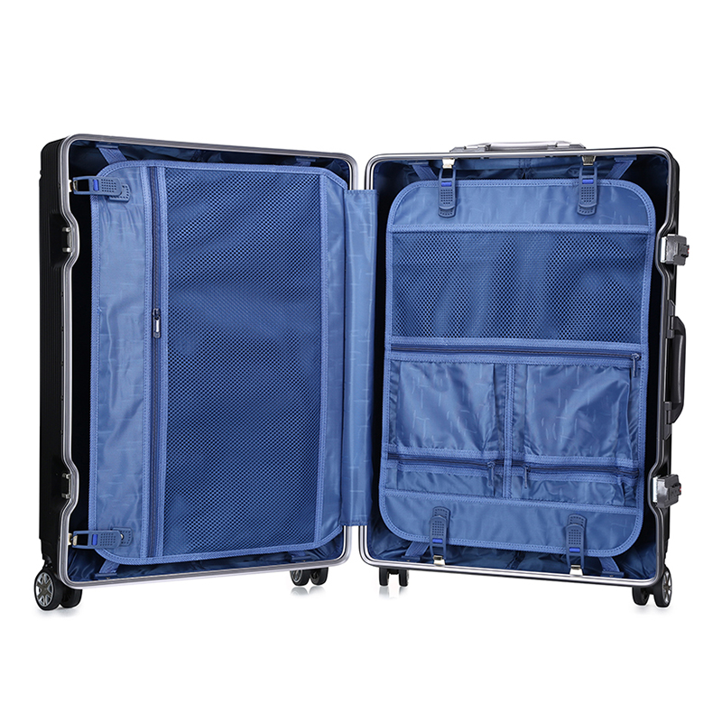 Young peoples personal luxury luggage