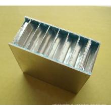 Paneles de sándwich de panal de aluminio recubierto con rodillos PE / PVDF