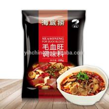 Sichuan sabor local Sazonador picante para pato con salsa de chile