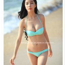 Reizvolle Dameart und weise Dame Bikini Badebekleidung