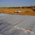Geomembrana HDPE de material impermeable para Wick Drian
