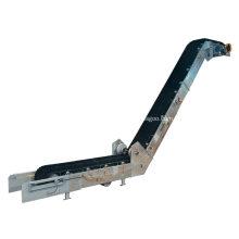 Large Inclination Corrugated Belt Conveyor For Coal Sand