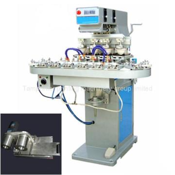4-Farben-Niederspannungs-Tampondruckmaschine mit Förderband
