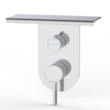Unique brand in-wall square 3-ways brushed wash mixer faucets used bathroom fixtures