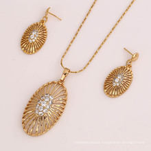 61819 Newest design 18k gold plated original jewelry sets of high quality