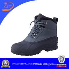 Botas de nieve antideslizantes de cuero barato del PVC (XD-110G)