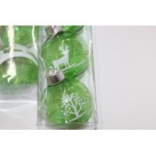 Boule en plastique de boule décorative de Noël