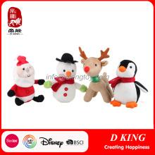 Christmas Animals Stuffed Soft Toys Gifts Yangzhou Manufacturer