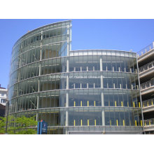 Tempered Laminated Glass Spider Clipped Frameless Glass Curtain Wall Facades