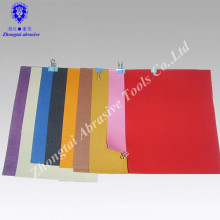 Drawing A4 white aluminu oxide sand paper with color color printing