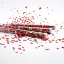 Bâton de confettis de mariage de vente chaude pour la célébration