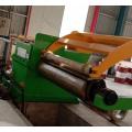 Linhas de rebobinador cortador de bobina de aço inoxidável