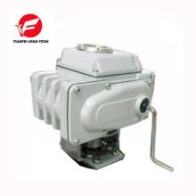 4-20ma on-off type 220v 24V 12v quarter turn electric Motorized Valve Actuator with signal feedback