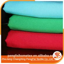 Tissu en satin élastique imprimé en polyester confortable pour gros