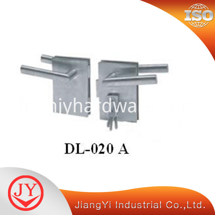 Glass Door Handle Lock Of Stainless Steel