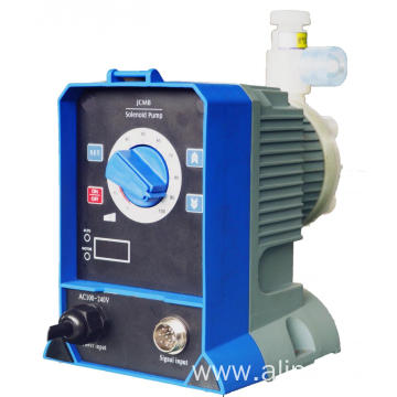 Diaphragm solenoid dosing pump for water treatment