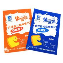 Plastic 3 Sides Seal Sea Food Packaging Bag