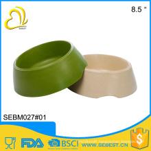 best selling E-CO bamboo melamine round dog bowl