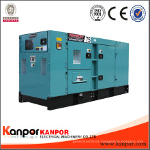 Silent Type 3 Phase Water Cooled 350kVA Diesel Generator Brand Engine