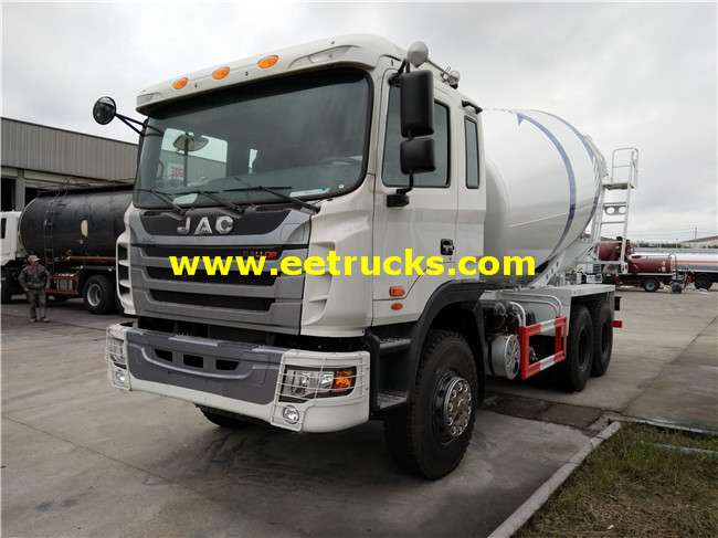 10 Wheel 12m3 Concrete Mixing Trucks