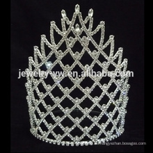 La corona rosada 7inch corona el desfile corona Tiara