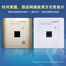 High Speed Single Pole 150Mbps in Wall Wireless Router for Hotel Rooms, Hotel WiFi Ap, Embedded Metope Wireless Router