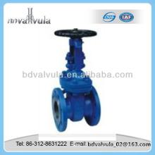 DIN steel rising stem manual gate valve