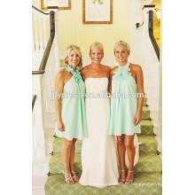Bare Back Knee Length Custom made Formal Short Bridesmaid Dress For Wedding Party CY014 china bridesmaid dresses