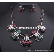 Ожерелье оболочки дизайн комплект/ювелирные изделия комплект (XJW13213)