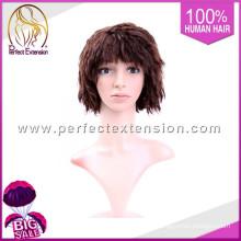 Superventas 2015 Sex Girl 100% Raw Indian peluca de pelo natural
