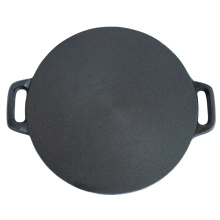 Heavy Duty Cast Iron Round Baking Stone with Handle