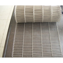 Food Processing Stainless Steel Wire Flat Flex Wire Mesh Conveyor Belt