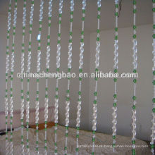 Localização da sala de estar e característica do Retardante da Chama cortina de contas