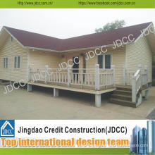 Prefabricated House for Living with Bedrooms, Bathroom and Kitchen