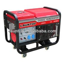 10kw Schweißen Generator Satz mit 4-Takt, luftgekühlt, Zwilling-Zylinder 20 PS Motor