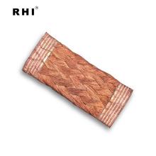 Connecteur tressé flexible de fabricant, courroie de liaison de masse de cuivre