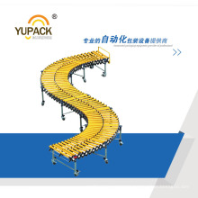 Portable Flexible Expandable Gravity Double Roller Conveyor