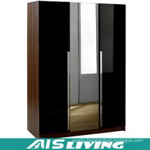 Customize Modular Pull out Glass Mirror Wardrobe (AIS-W785)