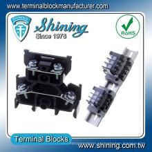 ТД-015 с AWG 14 двухэтажных 600В 15 Ампер терминального блока винта PCB