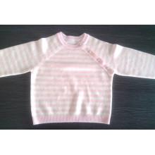 Профессиональное изготовление оптовая 12гг полоску чистого кашемира дизайн детские свитера