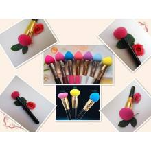 2014 Newest Latex Free Makeup Brush Puffs Hydrophilic Material