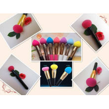 **2014 Newest Non-Latex Makeup Brush Puffs Cosmetic Brush Hydrophilic Material