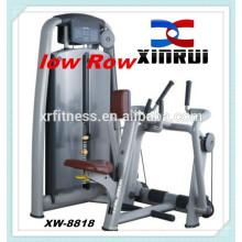 Baixa linha / equipamentos de fitness máquina de remo / equipamentos de ginástica