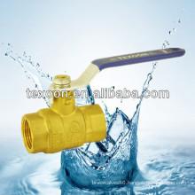 copper mini brass ball valve for water gas oil Lead free