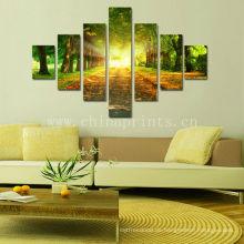 Hängende rahmenlose Leinwand-Kunst / Wald Leinwanddruck / Naturfotografischer Digitaldruck auf Leinwand
