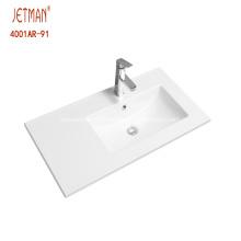 Factory price bathroom cabinet simple wash basin sink